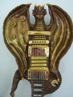 Carved Gibsonn Les Paul Guitar