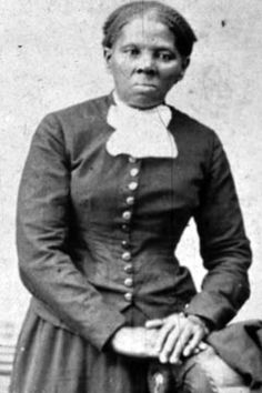 Harriet Tubman, led slaves to freedom on the Underground Railroad