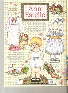 (⑅ ॣ•͈ᴗ•͈ ॣ)♡                                                          Paper doll                                                               Bann Estelle paper doll