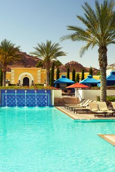 kasbah is one of three pools at the resort two stay open until midnight omni scottsdale resort spa at montelucia scottsdale arizona jetsetter