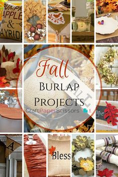 Though burlap is not the softest material by any means, it certainly has it's place in the crafting world. What is burlap good for? So many things! Burlap projects range from wreaths to pillows, flowers to table runners - and so much more! Crafting w