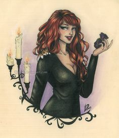 Rowena from Supernatural. She isn't my favourite character, but she's a great character!!! xD I love her!