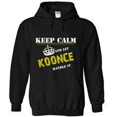 (Tshirt Top Deals) Let KOONCE Handle It Discount 5% Hoodies, Funny Tee Shirts