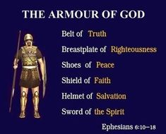 'Put God's armor on'