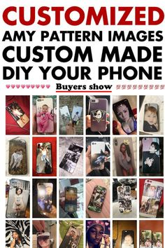 Custom Made Phone Case For iPhone Custom Made Phone Cases, Personalized Phone Cases, Diy Phone Case, Iphone Cases, Couple Gifts, Gifts For Wife, Gifts For Her, Fashion Show Poster, Phone Apple