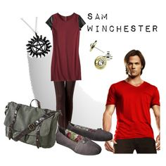 sam winchester supernatural inspired outfit