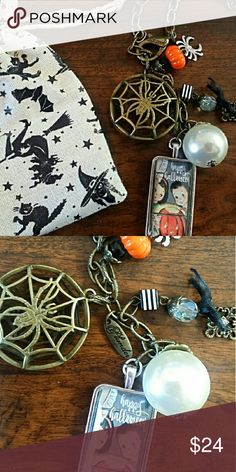 """Cobweb 28"""" adjustable Necklace for Halloween by Pl 28"""" adjustable necklace """"Cobweb"""" necklace by Plunder. NEW in box.  Nickel & Lead free. Bundle and save! Jewelry Necklaces"""