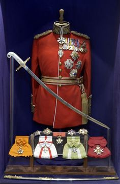 Decorations and medals of Lieutenant-General Alexander Godley New Zealand British Army Uniform, British Uniforms, Rms Titanic, Military Dresses, Military Uniforms, Military Decorations, War Medals, Military Orders, Lieutenant General