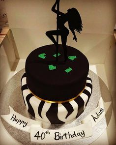 Pole Dancer Cake Decoration