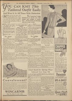 Issue: 1 Aug 1936 - The Australian Women's Week...