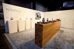 Need a little inspiration? 23 New Ideas for Trade Show Booths from @bizbash!  At CES 2012, Pinnacle designed a space for Nixon that stood out on the busy, tech-focused trade show... #tradeshows #conferences