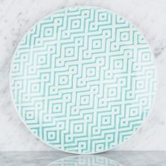 Turquoise Pattern Dinnerware  - DISHWARE - TableTop