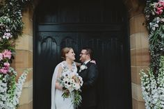 Hayley and Aaron | An Industrial Lithgow State Mine wedding Church Floral Arch Photography | Willow and Co. http://willowand.co Floral Designs | Floral Ink www.floralink.com.au