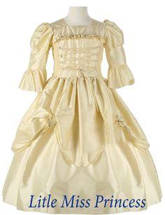 Edwardian Dresses for Little Girls | Girls Victorian Renaissance Costume Dress