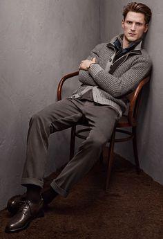 Ermenegildo Zegna Fall Winter 2015 Otoño Invierno #Menswear #Trends #Tendencias #Moda Hombre