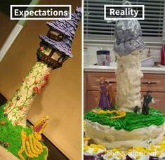 Expectations Vs Reality: 100 failed attempt to make a cake – Funnyfoto Funny Fails, Funny Memes, Jokes, Epic Cake Fails, Cats Vs Cucumbers, Baking Fails, Bad Cakes, Food Fails, Haha