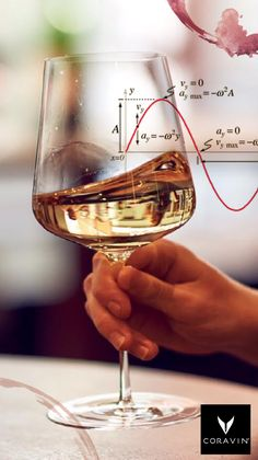 "Swirling wine creates oscillating waves. So, if someone asks what you're doing, just say ""advanced physics."""