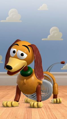 Slinky dog ( toy story , 1995 )