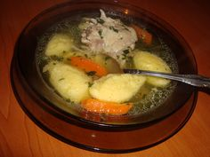 Supa de pui cu galuste - CAIETUL CU RETETE Romanian Food, Romanian Recipes, Baby Food Recipes, Mashed Potatoes, Food And Drink, Menu, Ice Cream, Cooking, Breakfast