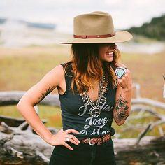 Ladies love outlaws @laceandlikes @stetsonusa by renatastone