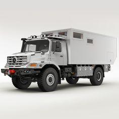 mercedes zetros home 3d model