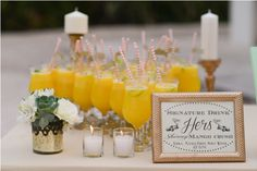 For the ladies, stay refreshed and feel great with these Skinny Mango Crush drinks! Perfect for a tropical beach wedding. #tropicaloccasions #beachwedding #weddingincostarica