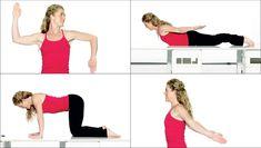 Start det nye år med en sund holdning! Her får du fire øvelser, der mindsker tantepuklen Yoga Fitness, Health Fitness, Upper Back Pain, Mommy Workout, Live Fit, Good Posture, Do Exercise, Health And Beauty Tips, Upper Body