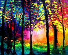 Landscape print art by Aja Autumn Eve 16x20 by SagittariusGallery, $50.00