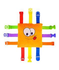 Another great find on #zulily! Bizzy Buckle Plush Toy #zulilyfinds