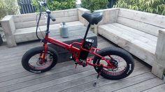 "RACE-STAR E-FATBIKE 20"" Faltrad Klapprad E-Bike folding bike"