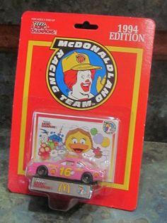 64163e95144 1994 Racing Champions McDonald s Birdie s T-Bird Die Cast Car Mint in  Package
