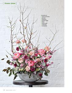 Flower Magazine.  Floral design by Philadelphia designer Sullivan Owen.