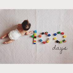 """35 Likes, 3 Comments - ✤ (@cayococo214) on Instagram: """"2016.3.29 shunとレゴで遊んでて、ふと隣に寝てたioriをみて閃き˚✧₊ 撮ってなかった生後100日目撮影大会へ . #生後100日 #詳しくは105日w #100daysold…"""""""