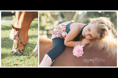 Children's Photography / Little Girl pose idea / Horse Photography / equestrian / Natural Light / family photography