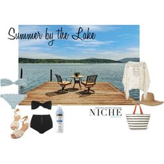 """Summer by the Lake"" by niche-magazine on Polyvore"