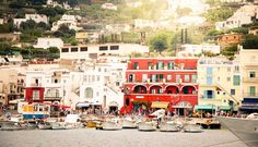 Mid-week dream: There's no other place we'd rather be right now than Capri. La Dolce Vita at its finest!