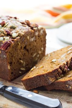 Gluten-Free Pumpkin Bread Recipe  Made this last night and lived it