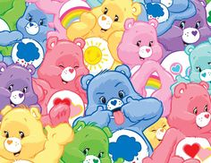 Care Bears Facebook Timeline Cover (2014)