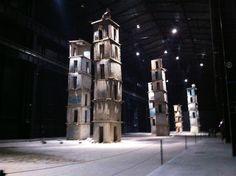 Hangar Bicocca my favorite place - the 7 towers #hangarbicocca#mybeautifulmilan#ilovemilan#seventowers