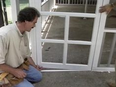 The experts at DIYNetwork.com explain how to fashion a screened-in a porch that will provide many comfortable summer nights.