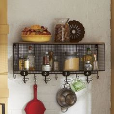 $80 Wire Cubbie Shelf from Through the Country Door®