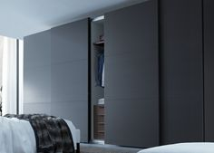 Modern Sliding Door Design 026 - For the Home - Fitted Wardrobe Doors, Wardrobe Design Bedroom, Bedroom Bed Design, Bedroom Wardrobe, Modern Wardrobe, Wardrobes For Bedrooms, Modern Bedroom Design, Sliding Door Wardrobe Designs, Sliding Door Design