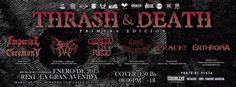 Cresta Metálica Producciones » EL THRASH & DEATH en su 1era Edición de Maracay será en Enero 2015