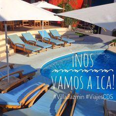 Una nueva escapada nos espera y como saben uno de nuestros destinos favoritos es Ica. Bella región de sol durante 360 días al año que se encuentra a solo 5 horas de Lima. Esta vez nos esperan las dos refrescantes piscinas el hotel #VillaJazmin y el transporte cómodo y seguro de Cruz del Sur.  www.placeok.com  #placeok #placeokstudio #travelblog #travelbloggers #villajazmin #viajescds #visitperu #madeinperu #peru #ica #lifestyleguide #summertimeshine #ontheblog #travelinspector #wherewework…