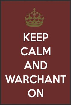 Keep Calm and Warchant On Florida State Seminoles by StickerTiger, $2.99