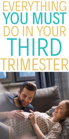 Everything you need to do before your baby arrives | This third trimester to do list will list all the things you need to do in the final part of your pregnancy. Happy Pregnancy, Pregnancy Health, First Pregnancy, Pregnancy Tips, Pregnancy Side Effects, Up Auto, Pregnancy Calendar, Pregnancy Calculator, Pregnancy Information