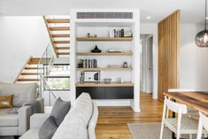 Box House by Paul Tilse Architects - Canberra Extension Architecture - The Local Project Modern Architecture House, Interior Architecture, Box Houses, Container House Design, Soft Furnishings, Ideal Home, Architects, Cottage, Bookshelves