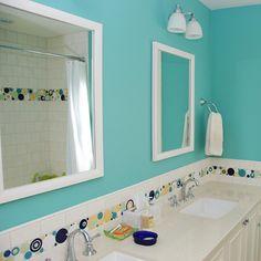 Surfside Bubbles Bathroom