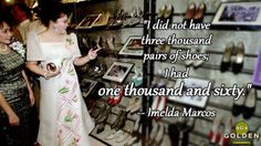 Imelda Marcos sets the record straight.