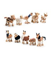 anaMalz are the leading and award winning eco & pose-able, hand-made wooden animal figurines made from quality wooden timber and plush materials.